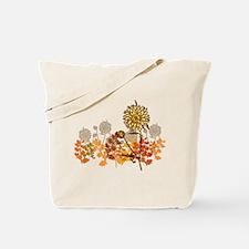 Autumn Crysanthemum Tote Bag