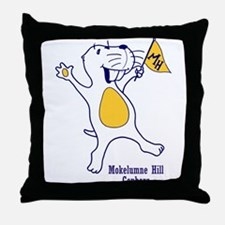 Moke Hill Throw Pillow