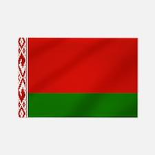 Flag of Belarus Rectangle Magnet