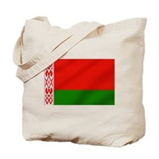 Flag of Belarus Tote Bag