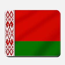 Flag of Belarus Mousepad