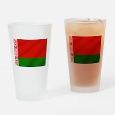 Flag of Belarus Drinking Glass