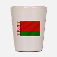 Flag of Belarus Shot Glass