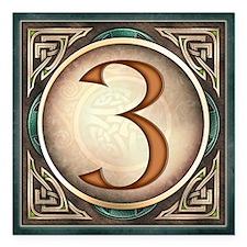 Celtic Knotwork Address Magnet, #3
