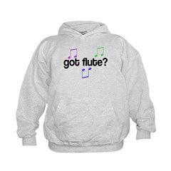 Colorful Got Flute Hoodie
