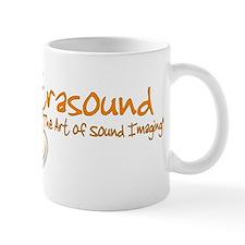 ultrasound transducer orange Mug