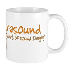 ultrasound transducer orange Mug