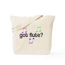 Colorful Got Flute Tote Bag