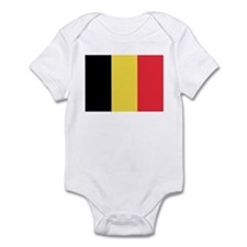 Flag of Belgium Infant Bodysuit
