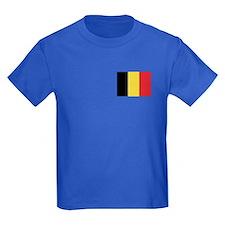Flag of Belgium T