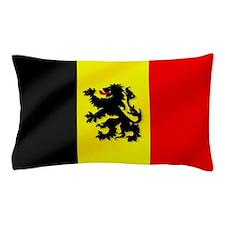 Rampant Lion Belgian Flag Pillow Case
