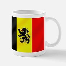 Rampant Lion Belgian Flag Mug