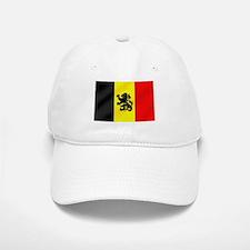 Rampant Lion Belgian Flag Baseball Baseball Cap