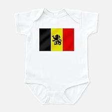 Rampant Lion Belgian Flag Infant Bodysuit