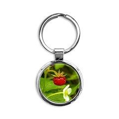 Wild Strawberry Keychains