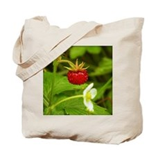 Wild Strawberry Tote Bag