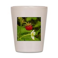 Wild Strawberry Shot Glass