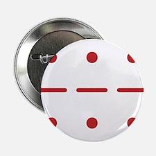 """SOS in Morse Code 2.25"""" Button"""