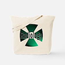 radioactive radiology green Tote Bag