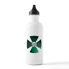 radioactive radiology green Water Bottle