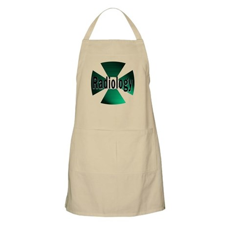 radioactive radiology green Apron