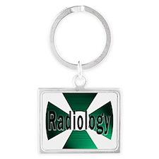 radioactive radiology green Keychains