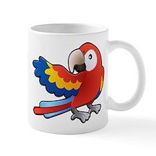 Red Parrot Mug