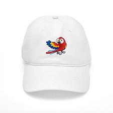 Red Parrot Baseball Baseball Cap
