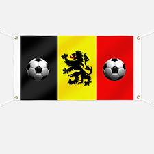 Belgium Football Flag Banner