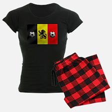 Belgium Football Flag Pajamas