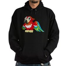 Red Parrot 2 Hoody