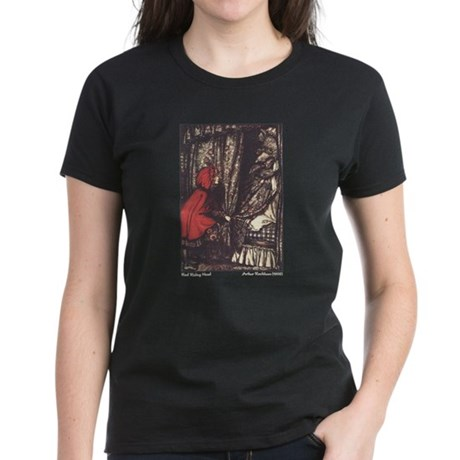 Rackham's Red Riding Hood Women's Dark T-Shirt