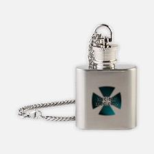 radioactive nuclear medicine Flask Necklace