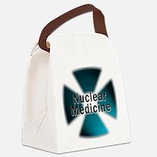 radioactive nuclear medicine Canvas Lunch Bag
