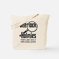 Portlandia Sherlock Holmies Tote Bag
