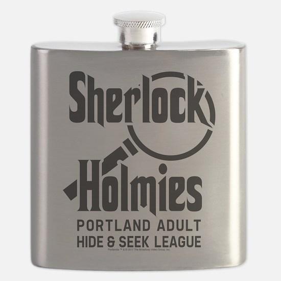 Portlandia Sherlock Holmies Flask