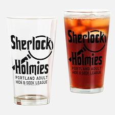 Portlandia Sherlock Holmies Drinking Glass