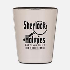 Portlandia Sherlock Holmies Shot Glass