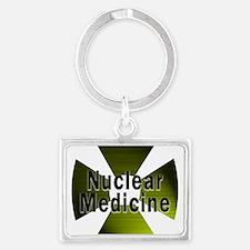 radioactive nuclear medicine 2 Keychains