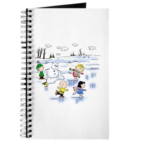 Snow Scene Journal