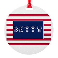 BETTY Ornament