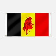 Belgian Red Devils Banner