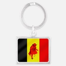 Belgian Red Devils Landscape Keychain