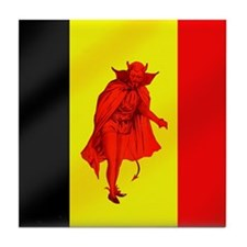 Belgian Red Devils Tile Coaster