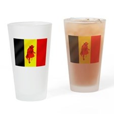 Belgian Red Devils Drinking Glass