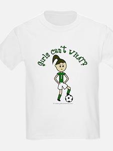 Light Green Soccer T-Shirt