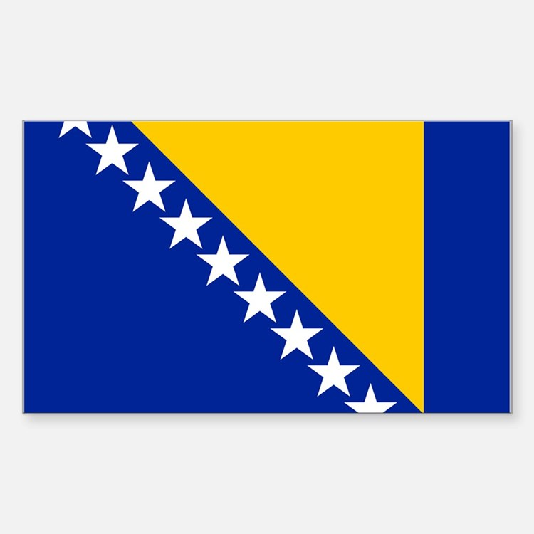 Flag of Bosnia Decal