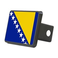 Flag of Bosnia Hitch Cover