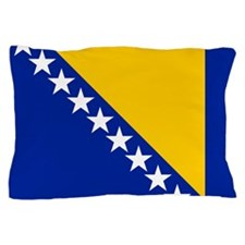 Flag of Bosnia Pillow Case