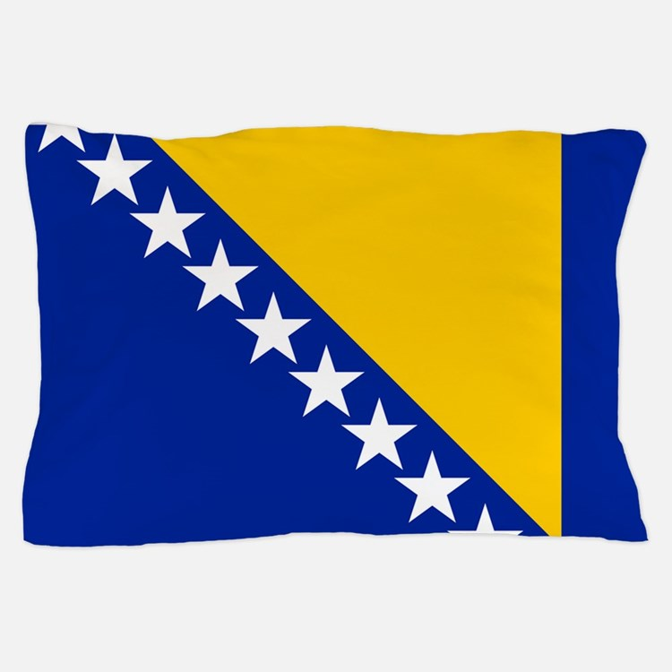 Flag of Bosnia Pillow Case